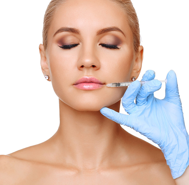 Lip filler treatment in sharjah