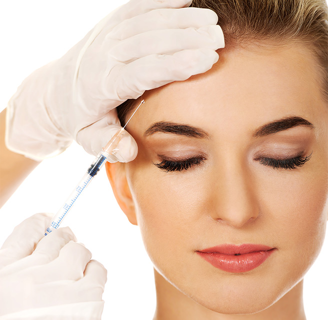 Non surgical brow lift treatment with Botulinum Toxin